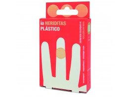 INTERAPOTHEK APOSITOS PLAST RED 2,5CM 24